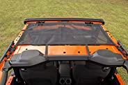 Rugged Ridge Eclipse Sun Shade, Front; 18-20 Wrangler JL, 2-Dr, 13579.74