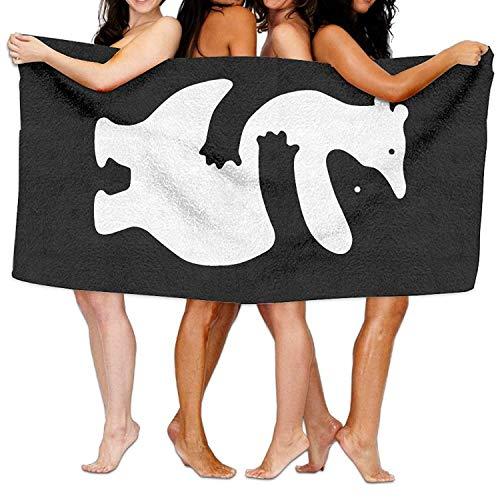 yuiytu Badetücher Duschtücher Strandtücher Bears Huggers Beach Towels Ultra Absorbent Microfiber Bath Towel Picnic Mat for Men Women Kids 32