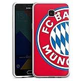 DeinDesign Samsung Galaxy A5 Duos 2016 Silikon Hülle Case Schutzhülle FCB Fanartikel Merchandise FC Bayern München
