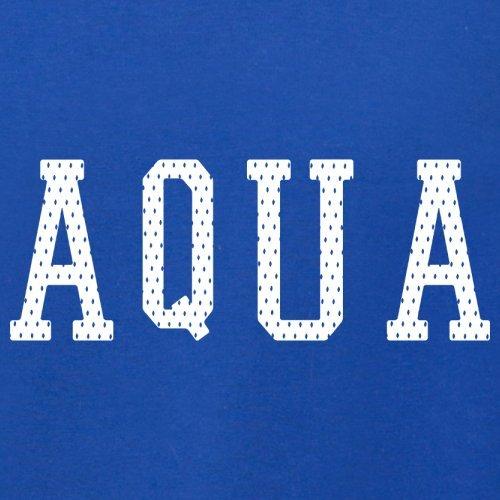 Justice Aqua College Style - Herren T-Shirt - 13 Farben Royalblau