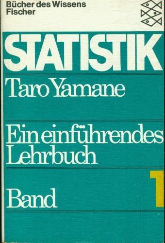 STATISTIK Ein einführendes Lehrbuch in 2 Bänden