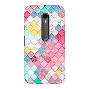 The Awesome Patterns of Rock Back Case Cover for Moto G Turbo
