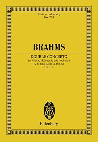 Double Concerto A minor: Op. 102 (Eulenburg Studienpartituren) (English Edition)