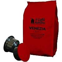 FRHOME - Caffitaly 100 Capsule compatibili - Il Caffè Italiano - Miscela Venezia Intensità 7