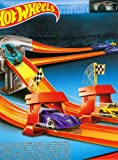 Hot Wheels Mega Rally Set in Multi Color