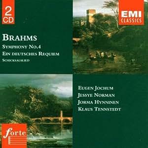 Symphonie n° 4 - Un Requiem Allemand - Schicksalslied [Import allemand]