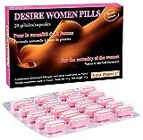 « Desire Women pills » neue Formel für Lust und Libido - 20 Kapseln Aphrodisiaka für Frauen