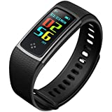 RCE - S9 [Color OLED Screen] Smart Band With Heart Rate Monitor, Multiple Sports Mode Fitness Bracelet For Android IOS