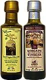 Coffret Moscato Vinaigre de Sicile Balsamique - Agé de 8 ans en bois 90 ml...