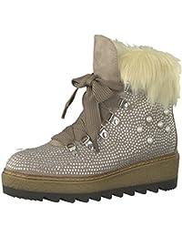 Tamaris 1 1 25717 39 Damen Stiefel, Stiefelette, Schnürstiefel, Schnür Boot, Boot, Winterstiefel, Herbstschuh für die modebewusste Frau, funktionaler