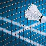 VGEBY1 Rete da Badminton, Maglia da Allenamento per Competizione Badminton Square con Borsa
