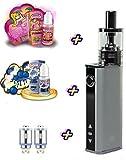 DAS Geschenkset I Stick IStick 40W TC Starterset Temperature Control E-Zigarette Elektro Zigarette Komplettset SC 1:1 identisch Eleaf mit American Stars Premium Liquids