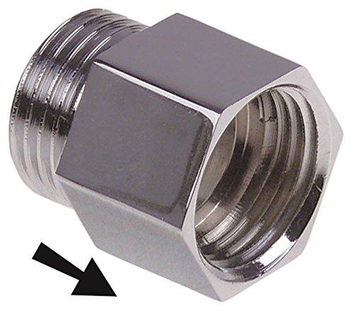 Küppersbusch Rückflussverhinderer für CPE120, CCE120, CCE220, CPE220, CCE106 1/2' 1/2' Länge 17mm