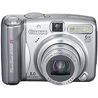 Canon Powershot A720 IS Digitalkamera (8 Megapixel, 6-fach opt. Zoom, 6,4 cm (2,5 Zoll) Display, Bildstabilisator)