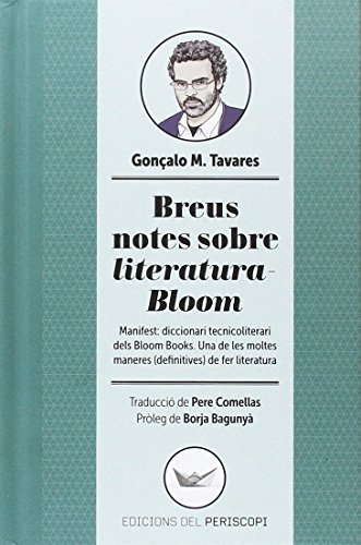 Breus notes sobre literatura-Bloom: Manifest: diccionari tecnicoliterari dels Bloom Books. Una d (Astrolabi)