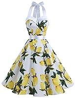 Dressystar Robe à 'Audrey Hepburn' Classique Vintage 50's 60's Style à mancheron  Pour les mensurations les plus précises et un ajustement parfait,  veuillez faire référence à notre taille.   Taille.......Tour de poitrine....Tour de taille .....Longu...