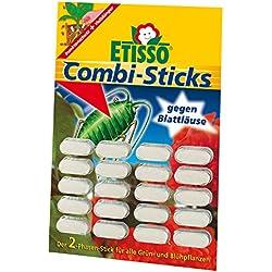 ETISSO® 1215-184 Combi-Sticks gegen Blattläuse - bis zu 8 Wochen schutz für alle Grün- und Blühpflanzen