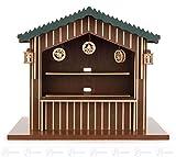 Weihnachtsmarktstand elektrisch beleuchtet, mit 10-fach Verteiler und Trafo BxHxT =33 × 27 × 22 cm NEU Erzgebirge Miniaturen