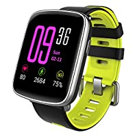 YAMAY Smartwatch Fitness Tracker Android iOS Impermeabile IP68 Uomo Donna  Bambini Smart Watch Orologio Cardiofrequenzimetro da Polso Braccialetto  Sport ... 338f0dc31860
