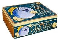 NATIVES 411540 Thé dans la lune Boîte à thé de 6 compartiments Métal Multicolore 20 x 14,5 x 6,5 cm
