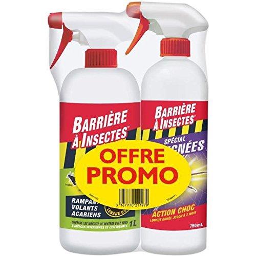 Lot de 1 pulvérisateur BARSEC1000N + 1 pulvérisateur BARAIGNE750 Barrière à Insectes