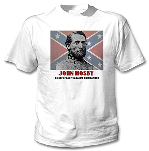 teesquare1st Men's John Mosby White T-Shirt