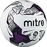 Mitre Promax Hyperseam Pro fútbol, Color White/Black/FIFA, tamaño Talla 5