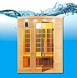 Sauna de infrarrojos Apollon, 3 plazas