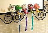 Mansa 5Pcs animal Antibacterial Toothbru...