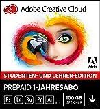 Adobe Creative Cloud Multilingual Student und Teacher | 1 Jahreslizenz | PC/Mac | Online Code & Download