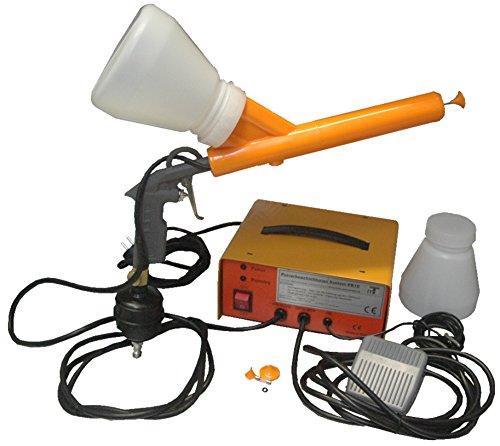 Preisvergleich Produktbild Pulverbeschichtungssystem PB16 mit digit. Fernthermometer