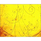 Photographic Print of Tracks of electrons and positrons
