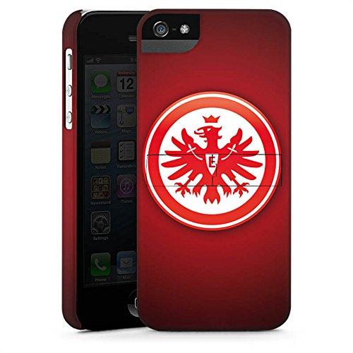 Apple iPhone 6s Tasche Hülle Flip Case Eintracht Frankfurt Fanartikel SGE Bundesliga Premium Case StandUp