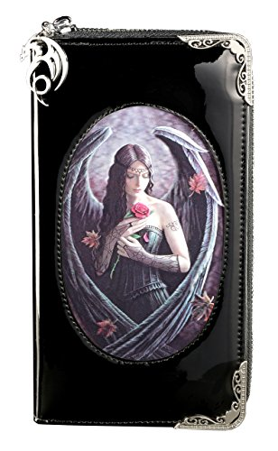c Engel 3D Motiv | Angel Rose von Anne Stokes | Portemonnaie Lack Fantasy Portmonee ()