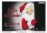 Da bin ich wieder! 24 fröhliche Weihnachtsgrüße: TUSHITA Postkartenbuch TUBU24