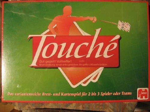 Touche: ein variantenreiches Brett und Kartenspiel für 2 bis 3 Spieler oder Teams