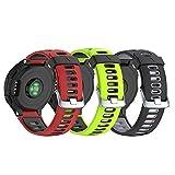 NotoCity Bracelet 735xt Forerunner Montre Fitness Tracker Silicone Souple Bracelet de Replacement Sport Compatible Forerunner 230/235/620/630/735XT