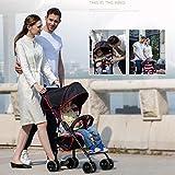 Baby Stroller Leichter Spaziergänger-Spaziergänger-Spaziergänger-Spielraum-System-Leichter Faltbarer Spaziergänger-Regenschirm,Violet