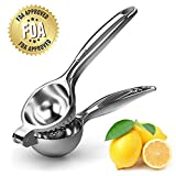MiMoo Manual Lemon Squeezer è uno strumento indispensabile per fare limone, lime, arancia o altro succo di agrumi in qualsiasi cucina o bar. È anche un aiuto ideale per preparare insalate, pesce, bevande e altre esigenze di cottura. Il manico non si ...