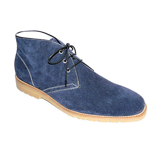 Worland Mod.1340 Grande Taille 100% Made In Italy - Boots Homme Velour