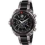 Redux Analogue Black Dial Men's & Boy's Watch - RWS0143S