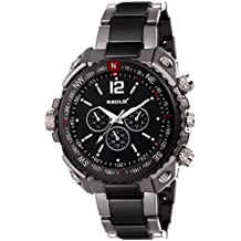 Redux Analogue Black Dial Men's & Boy's Watch - RWS0143S