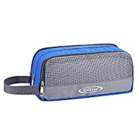 G4Free Water Resistant Travel Toiletry Bag Portable Makeup Pouch Bathroom Wash Bag for Men and Women