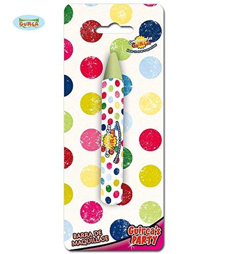 Fiestas Guirca GUI15218 - Blister Pack: Make-up stick,  14x90. (Up Schwarz Make Stick)