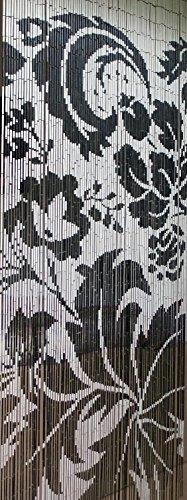 Para puerta de madera de bambú de madera de bambú de cortina...