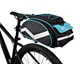 Bicycle Waterproof Rear Seat Trunk Bag with Should Strap