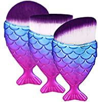 Sasairy Meerjungfrau Klein Make-Up Pinsel Kosmetik Fisch Gesicht Pinsel(3 Stück) preisvergleich bei billige-tabletten.eu