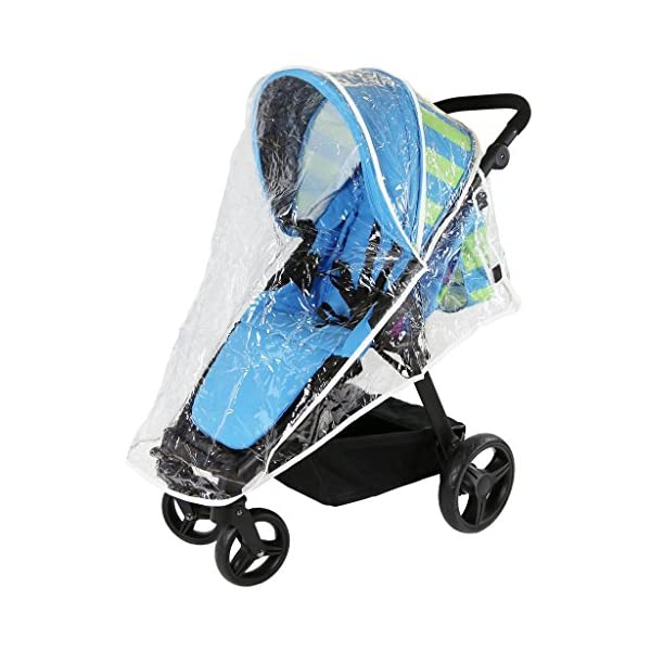 iSAFE Sail Stroller - 7 Colours! (Navy) iSafe Media Viewing Extendable Hood Light Weight Sturdy Structure 4