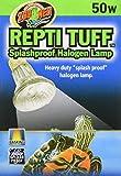 Zoo Med OH-50E Turtle Tuff Halogenlampe, 50 W, für Wasserschildkröten, spritzwasserresistent