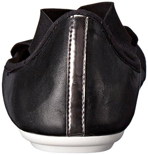 Easy Spirit e360 Yandra Femmes Large Synthétique Ballerines Black